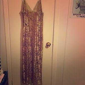 Victoria Secret lace gown